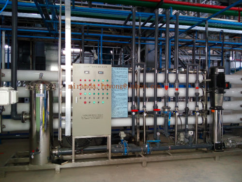 500T/D Ultrafiltration+Revee Osmosis for grey water reuse in